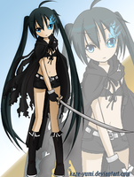 Black Rock Shooter Collab by Kaze-Yumi
