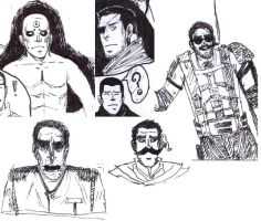 Watchmen and etc doodles by supremelyshort