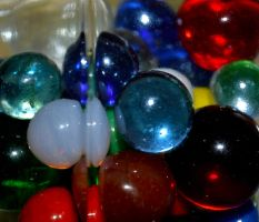 Jar of Marbles by alimuse