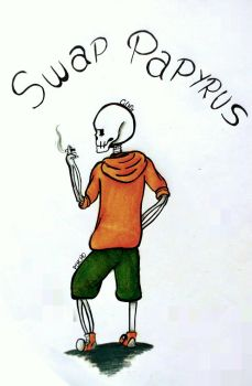 You gonna have a bad time? - Swap!Papyrus by Psycho-kun12