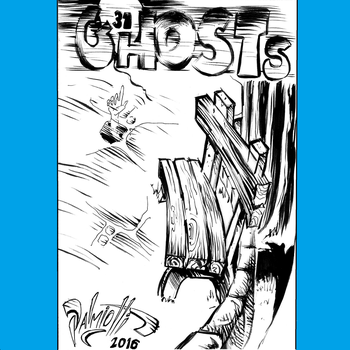 Inktober Day 1 - 31 Ghosts by PeterPalmiotti