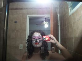 crazy make up. by Boucless