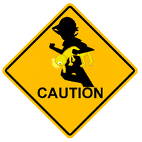 Caution: Bro Crossing by Jimangable