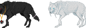 Wolf Adopts - Spider, Snow CLOSED by tahbikat