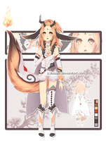 [CLOSED] Orange Adopt Auction by Kaiapi