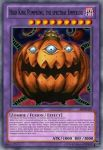 YGO Card: High King Pumpking the spectral Emperor by KuriMaster13