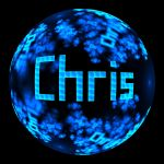 Fractal Name - Chris by Cosmic-Cuttlefish