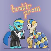 Pia x General Mumblr Tumblr Prom by DocWario