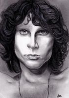 Jim Morrison by IreneGnr22