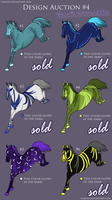 Auction: Glow-in-the-dark Horses - 1 DESIGNS LEFT! by yokuns