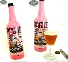 Voodoo Donut Beer - Bacon Maple Ale by chat-noir