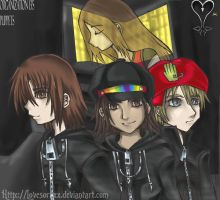 Org. XIII's Puppets by lovesoraxx