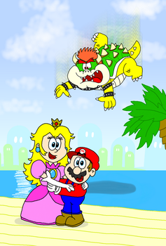 A (Ab)Normal Afternoon in the Mushroom Kingdom by AngryBirdsStuff