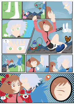 Jumpgirl and Gameprince page 5 by Kell0x