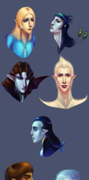 Face Paints by warrior-oji