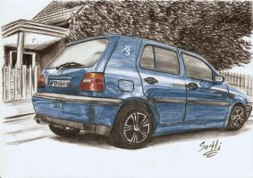 my VW GOLF III by SusHi182