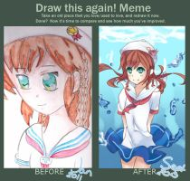 Draw this again Meme by Himechui