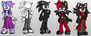 Sonic OCs by TheUltimateEnigma