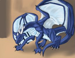 Blue Scales: Part 4 - Four legs and flies by Lucern7
