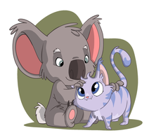 Koala and Kitty by Sibsy
