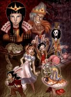 Strawhats in Wonderland by SybLaTortue