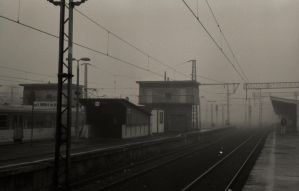 Gloomy station 02 by Molot