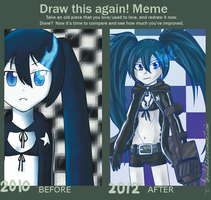 Improvement Meme (2010 vs. 2012) by Amalika