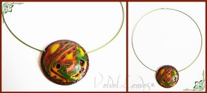 Jungle Necklace by VelvetLeaves