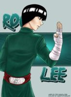 Rock Lee-collab with Fernanda by Questofdreams