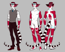 Jeannot human form ref by annicron
