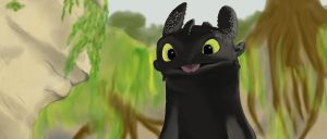 Toothless finished by UndertakerisEpic