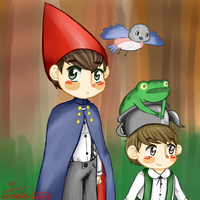 Over the garden wall by ThePastelHobbit