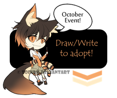 Adoptable: Draw/Write To Adopt Event [CLOSED] by tofumi