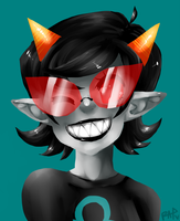Terezi Speedpaint by rap1993
