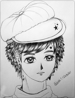 Anime boy by B-Injection