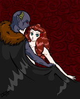 Hades and Persephone by PeacH-chan-MomO