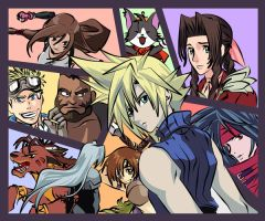 Final Fantasy VII by TheSpyWhoLuvedMe