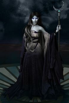 Mother of the Night by painsplayground