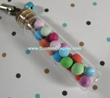 Pastel vial charm by The-Cute-Storm