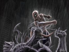 Spider-Man VS Venom by Kosmandis