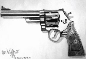 Smith and Wesson 44 by Mehdiunkut