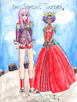 Revolutionary Girl Utena by Birdrun