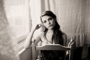 by the window sepia by athrawn