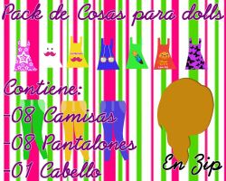 Pack de Cosas para dolls|Davii Purple by Davipurple