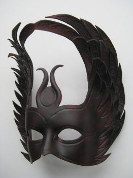 Isis - Leather Mask. by xothique