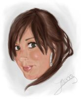 Jennifer portrait by Ceomyris