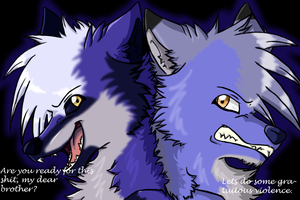 .:CM:Comet and Kiro:. by ShadownChaosforevr