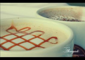 Hot Chocolate + caramel by Alneyadi
