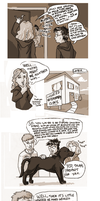 Harry potter comic by redwattlebird