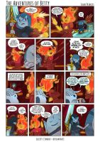 The Adventures of Betty: Flame Princess by illeity